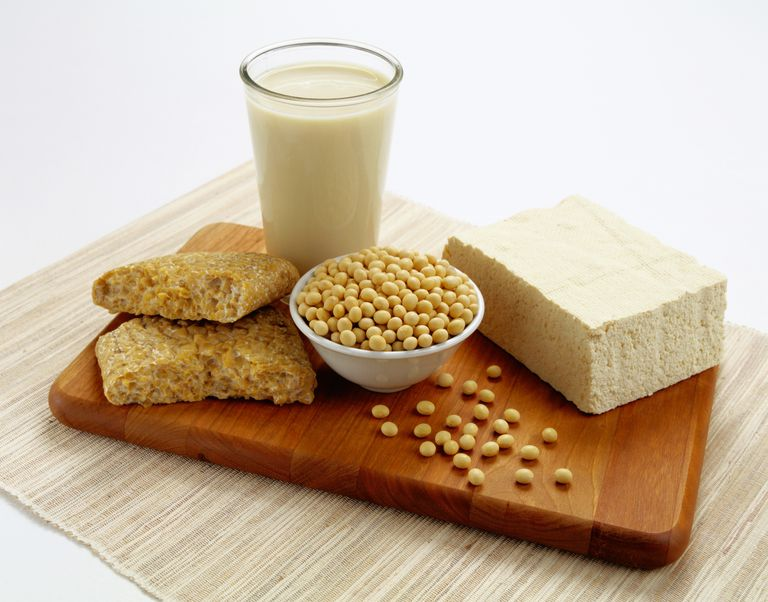 Soy foods can be part of a healthy diet.