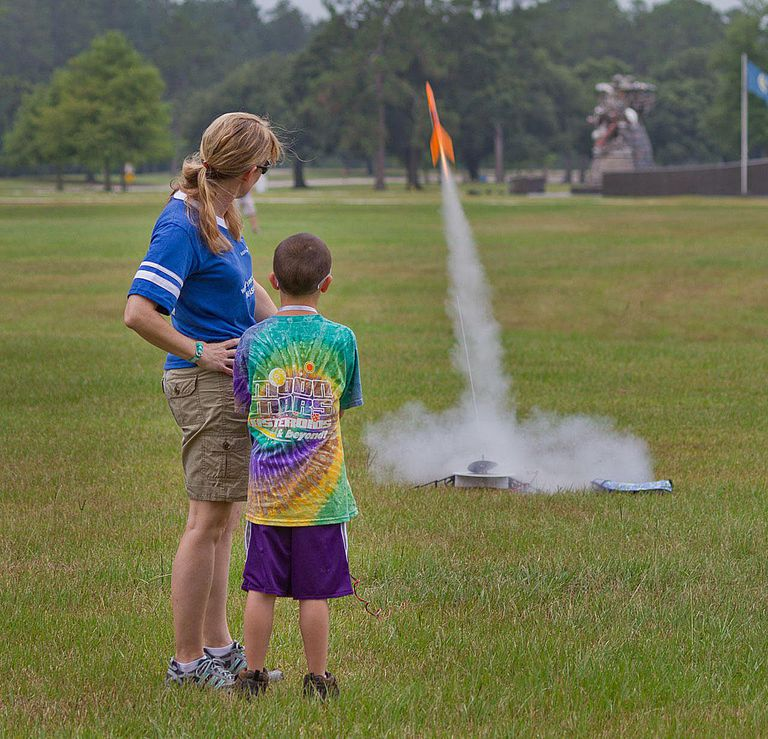 launch a model rocket