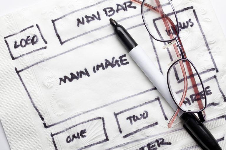 website design Concept elements for designing a website.