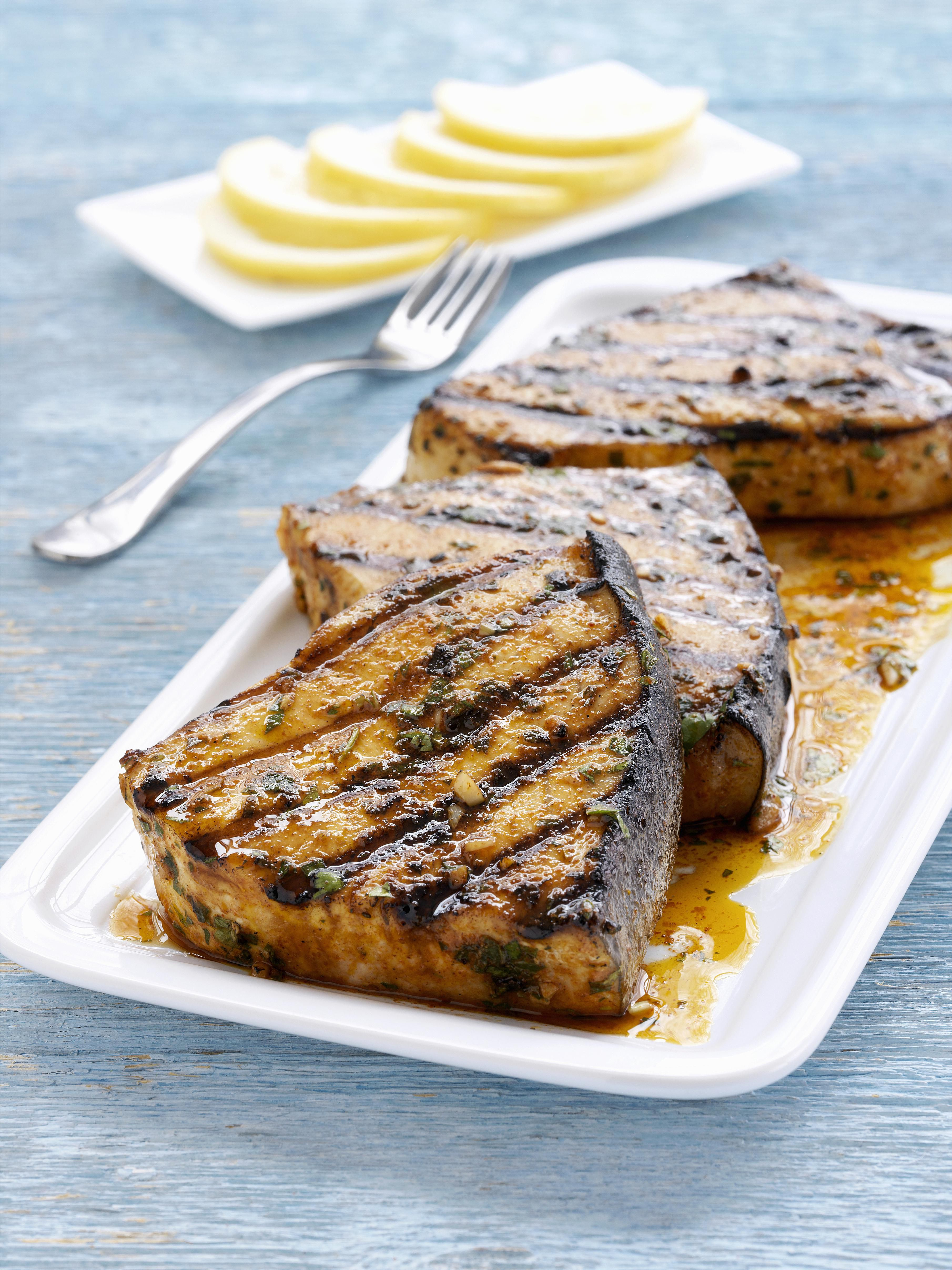 Ginger Lime Swordfish Recipe