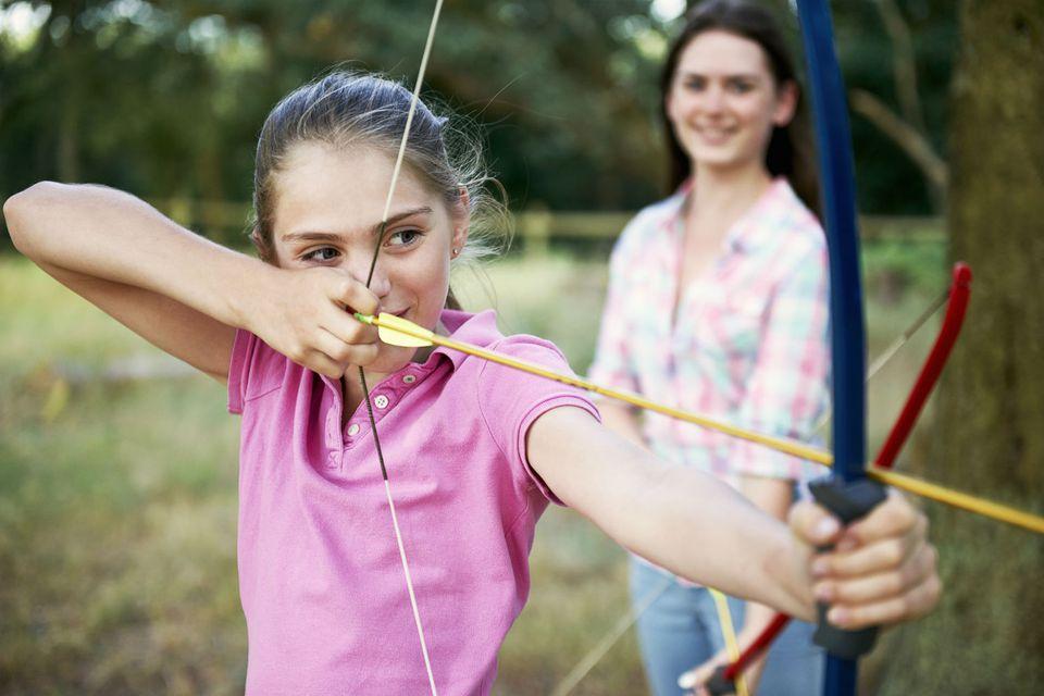 American Heritage Girls learn archery