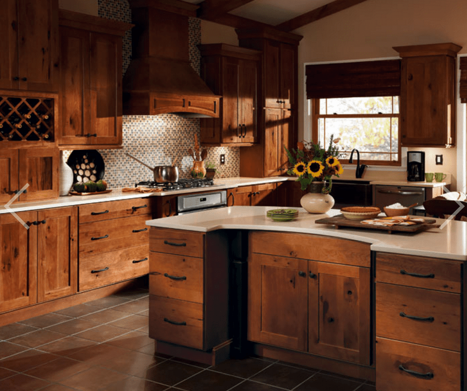 Tuscan-Inspired Kitchen - Decora Cabinets