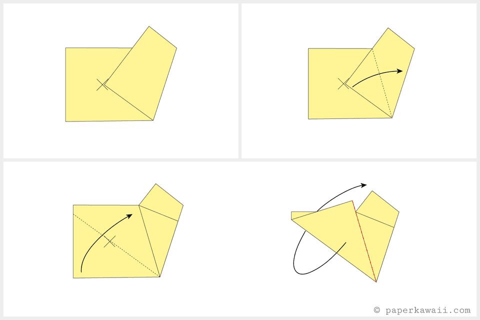 easy origami star 03