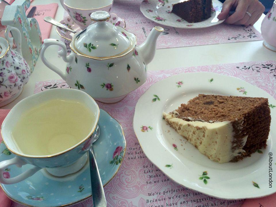 The Tea Terrace, London