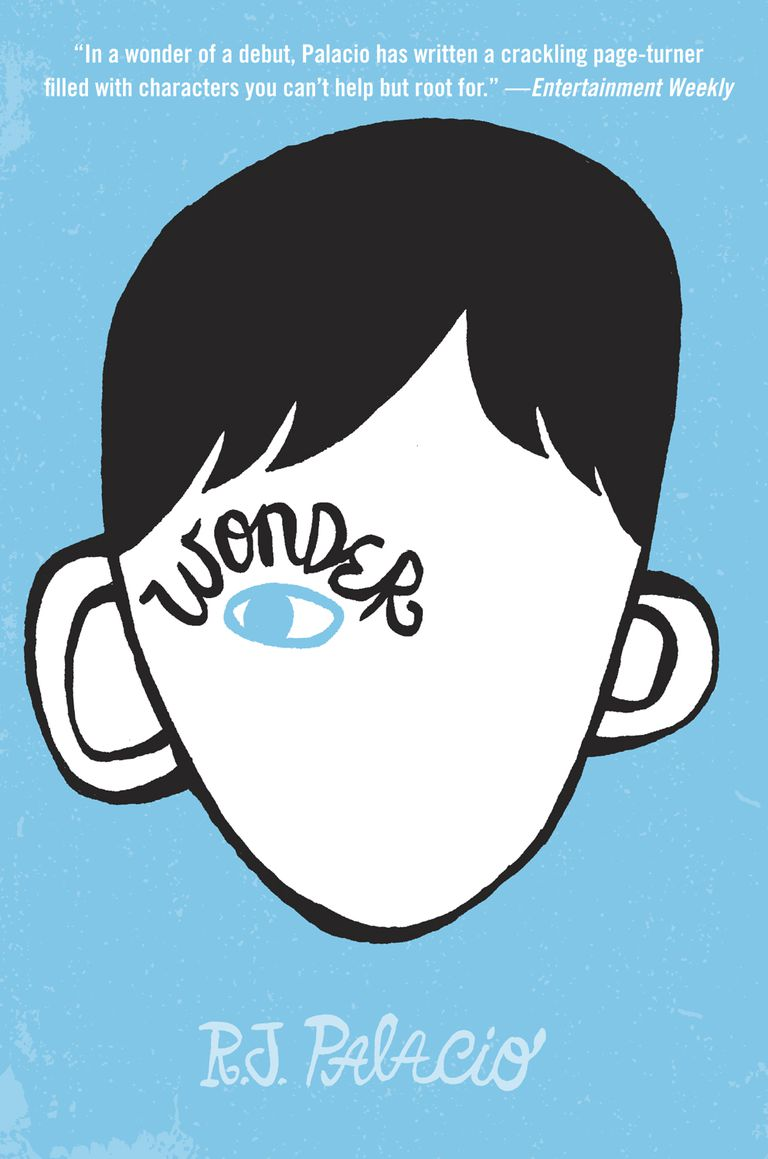 Wonder by R.J. Palacio, middle grade book cover