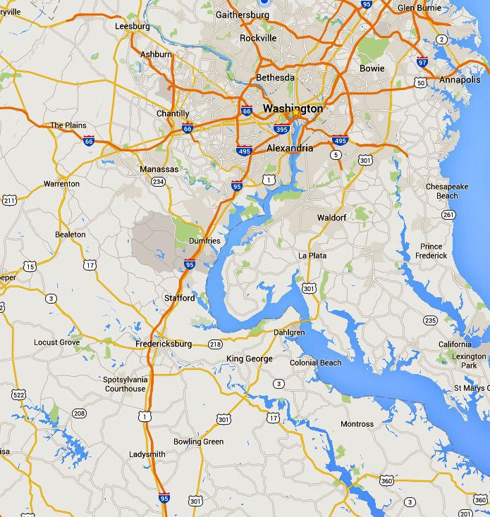 Maps Of The Chesapeake Bay Rivers And Access Points - Google river maps