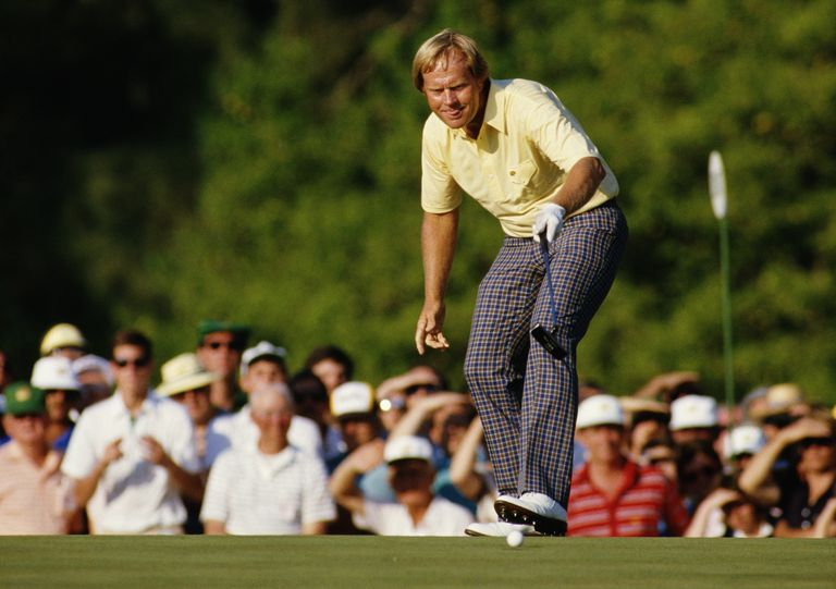 Jack Nicklaus at the 1986 Masters