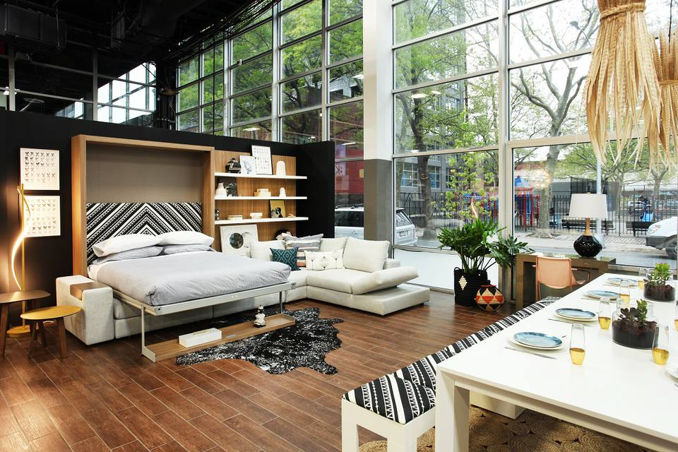 8 innovative furniture solutions for small spaces - Interior design for small spaces living room ...