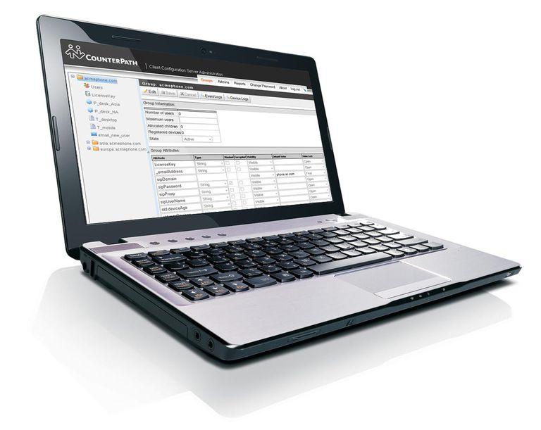 Product Screenshot - Client Configuration server