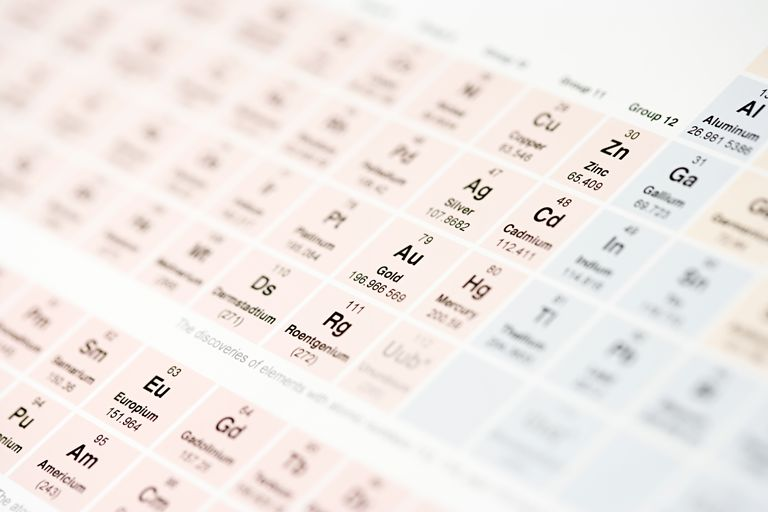 Depending who you ask, there are 94 or 98 natural elements. Technetium and promethium were made by man before they were detected on Earth.