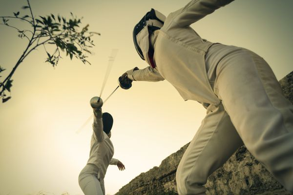 Fencing in nature