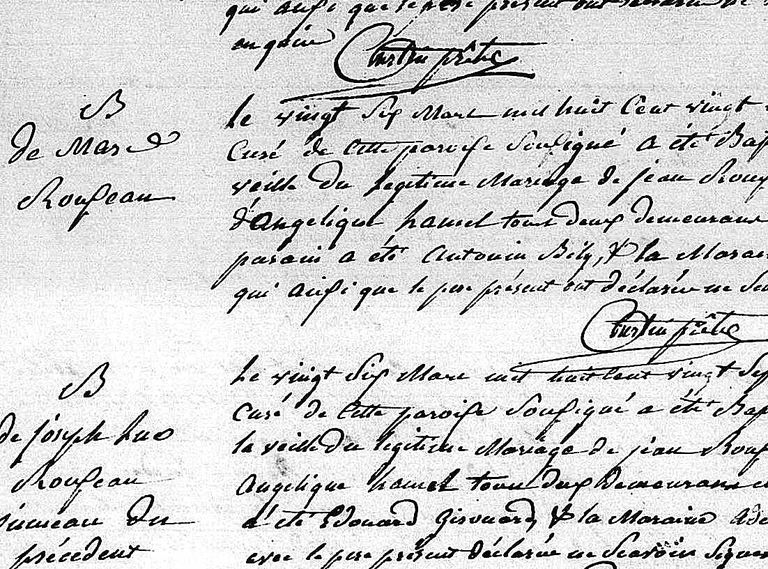 Search Quebec parish registers of baptisms, marriages and burials online for free at FamilySearch.