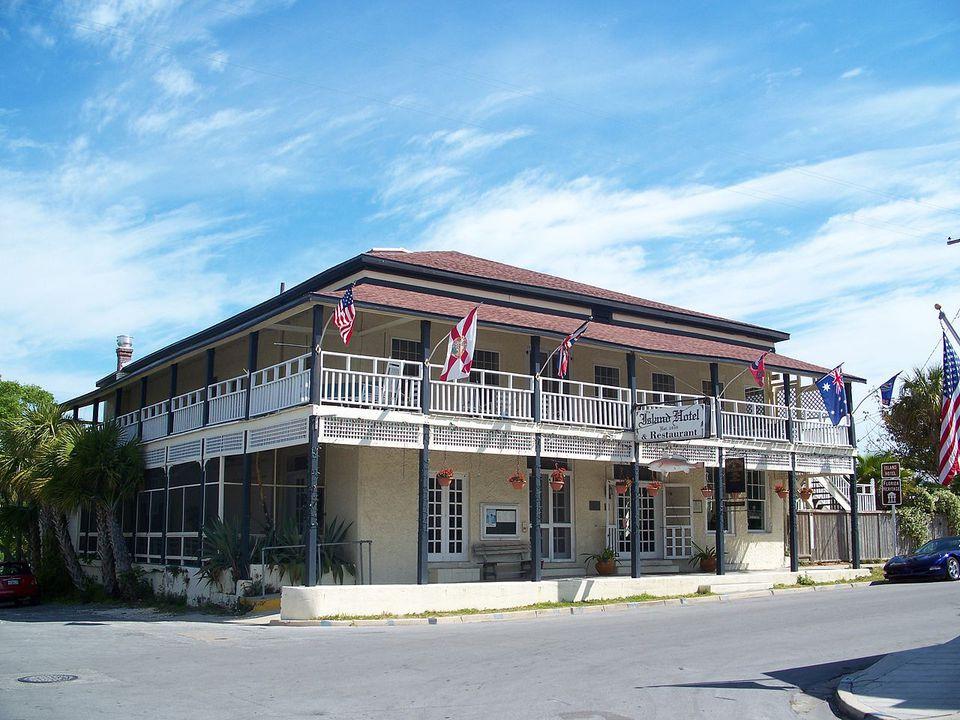The Cedar Key Island Hotel.