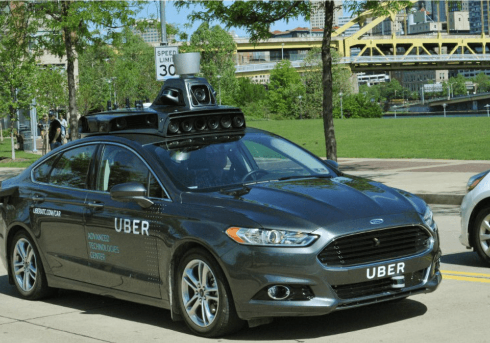 Uber's Driverless Cabs