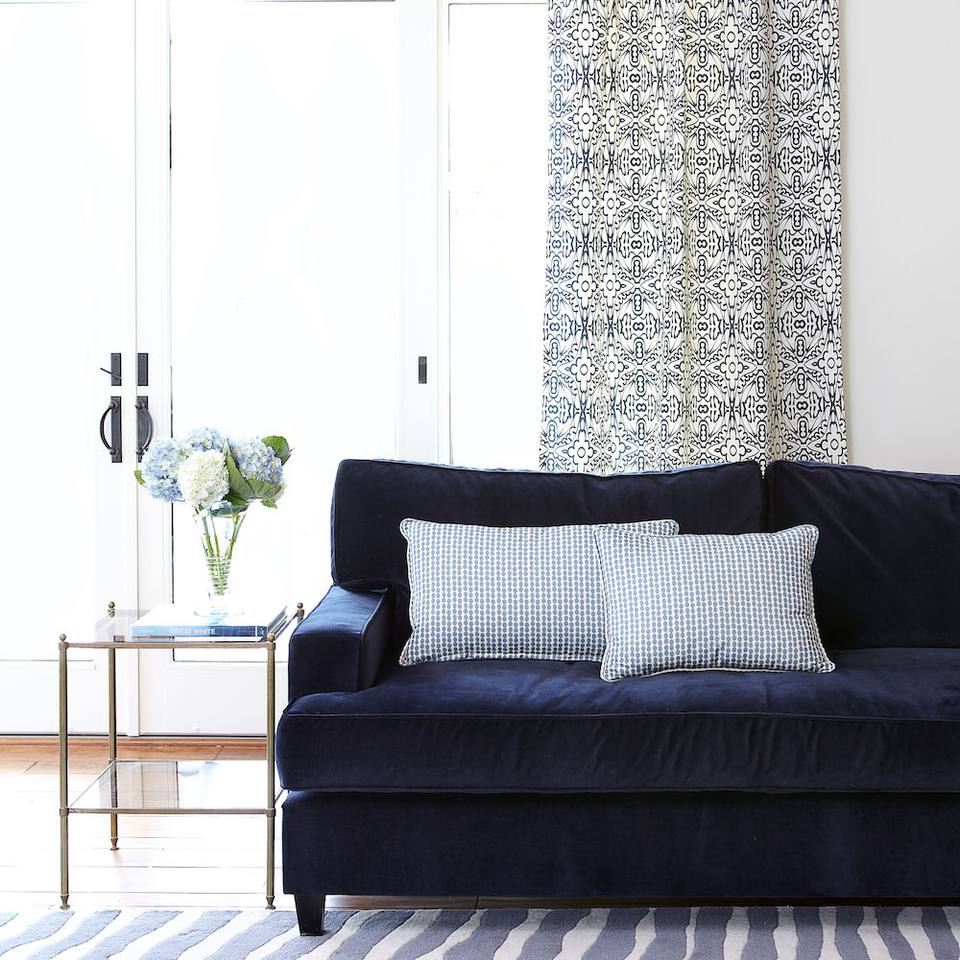 At Home With Pattern With Interior Designer Carolyn Rebuffel