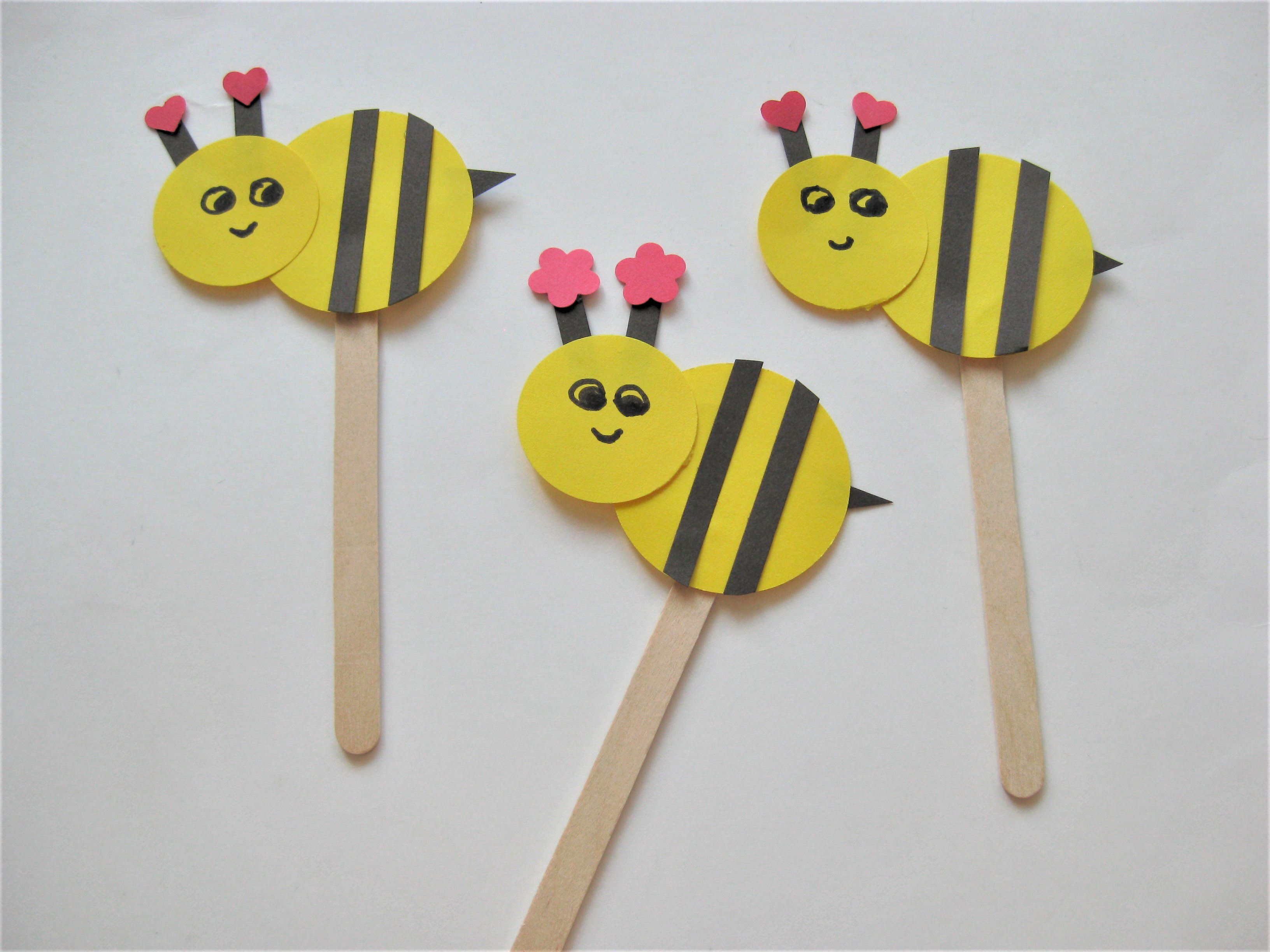 Bee Kind Preschool Craft