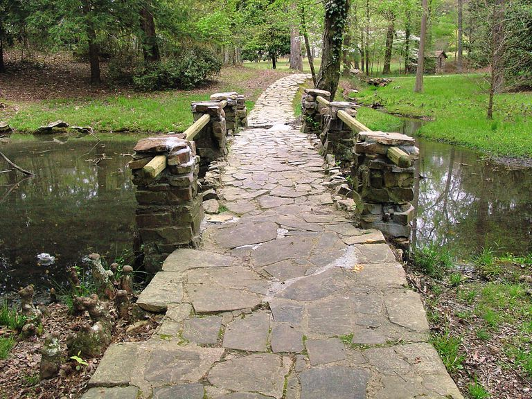 Path on the Berry College campus