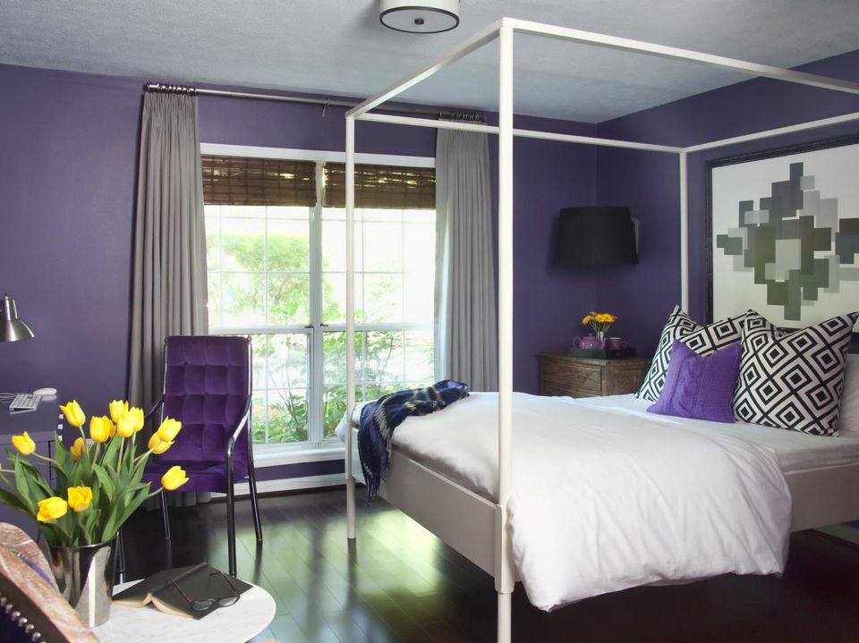 Dark Bedroom Colors decorating ideas for dark colored bedroom walls
