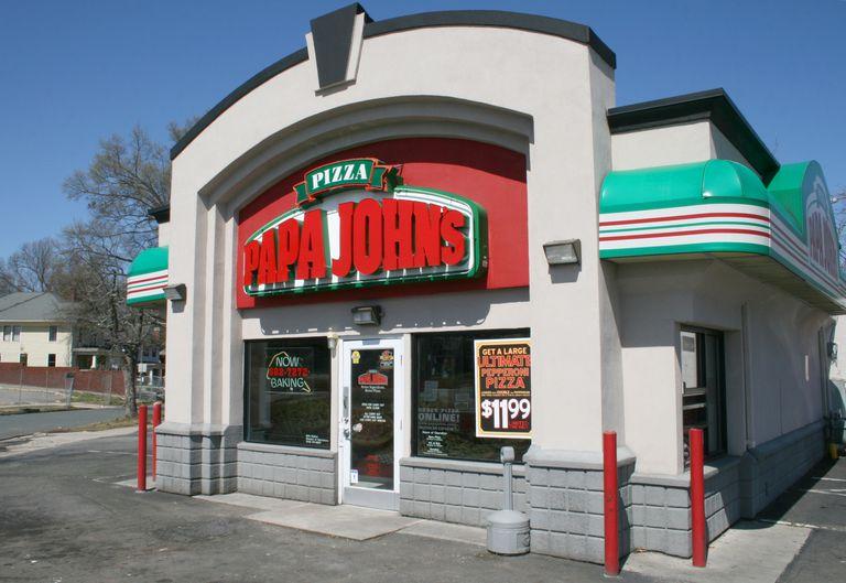 Papa John's Pizza restaurant