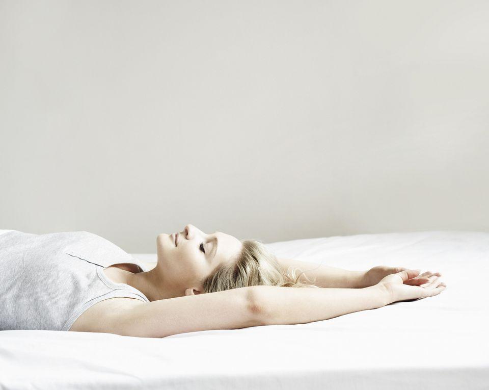 Yoga helps you sleep.