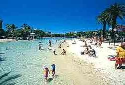 South Bank Beach, Brisbane