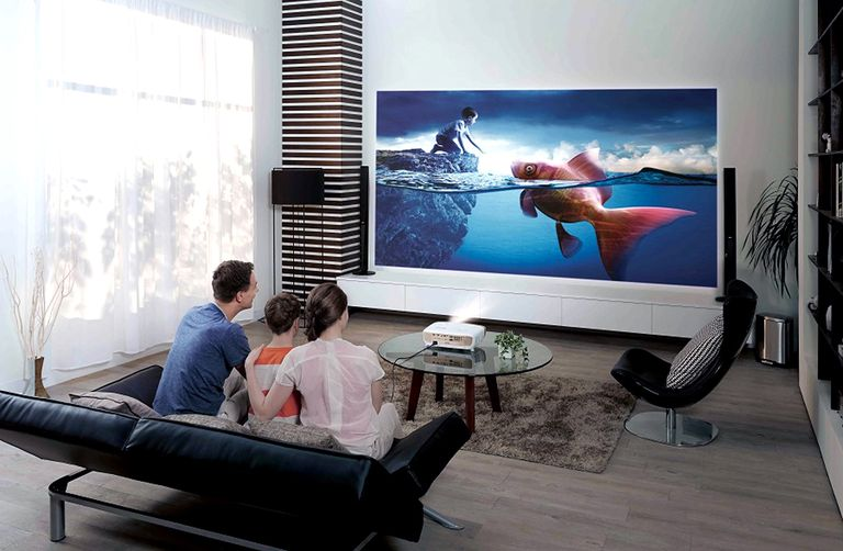 Video Projector Setup Example