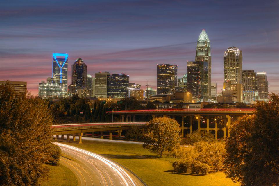 Downtown Charlotte, North Carolina Skyline