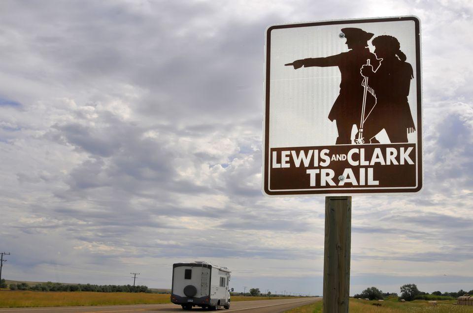 Lewis & Clark Trail sign