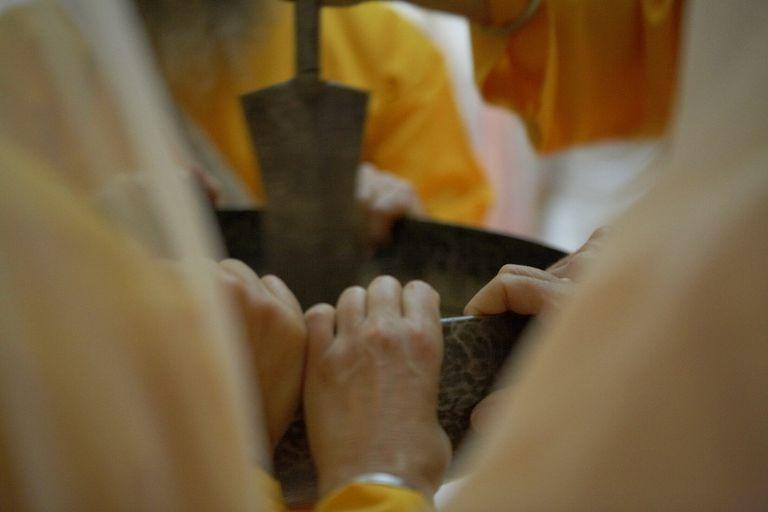 An Iron Sarbloh Bowl of Amrit Netar