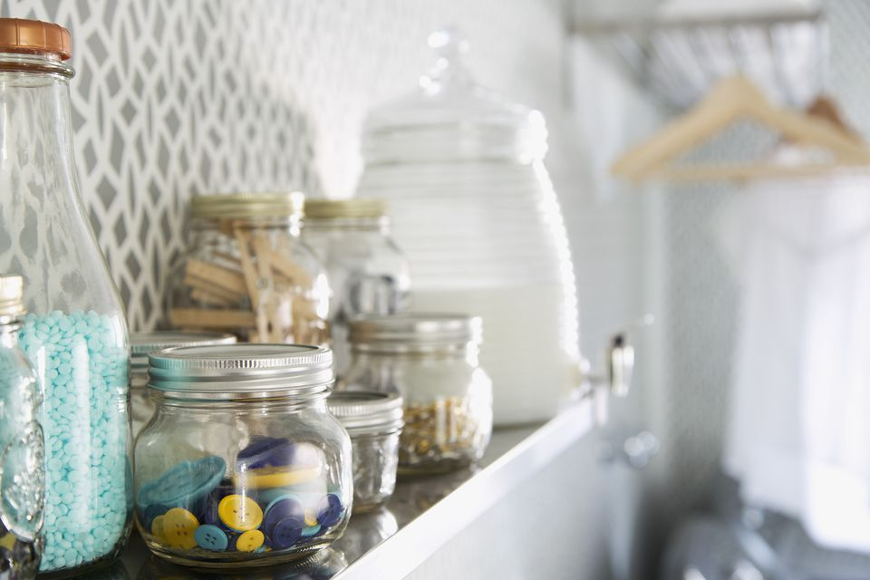 Laundry Storage Jars