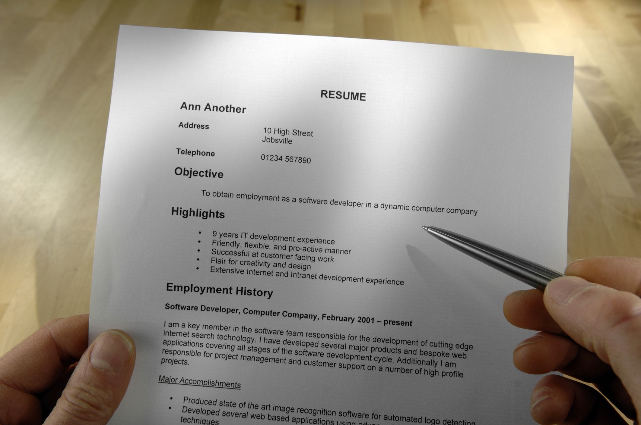how to choose the best resume format - Best Resume Font