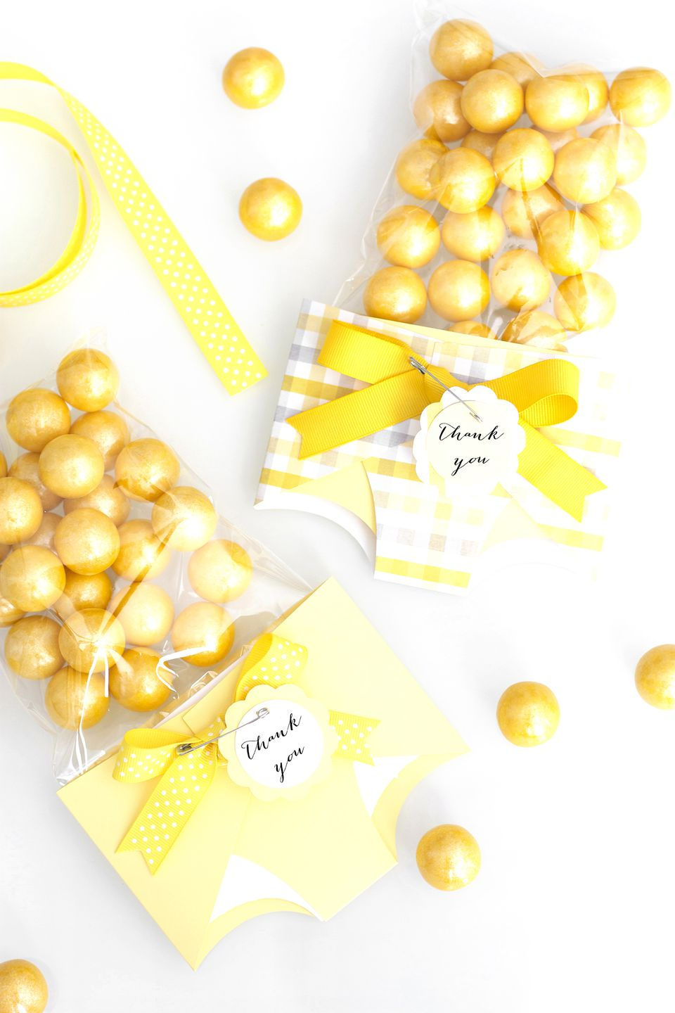 DIY Candy Baby Shower Favor