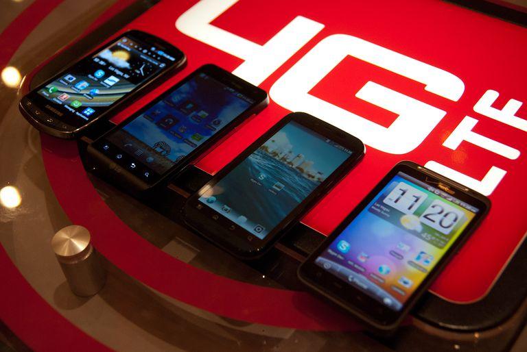 4G LTE phones