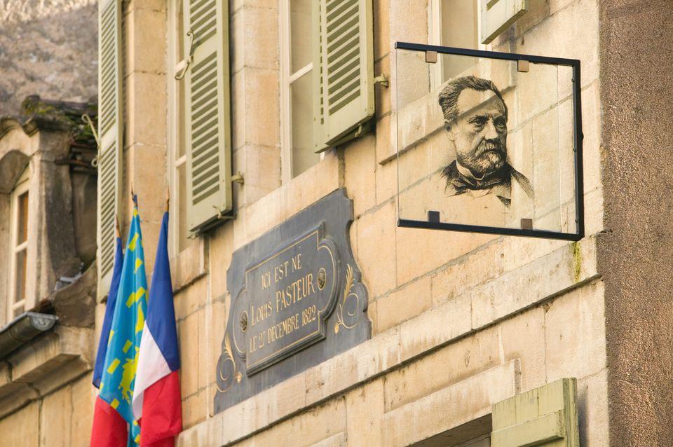 Louis Pasteur birthplace in Dole