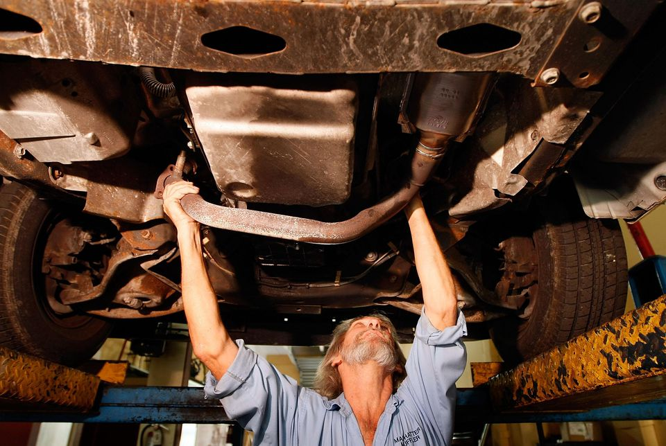 Catalytic converter theft can happen in seconds.