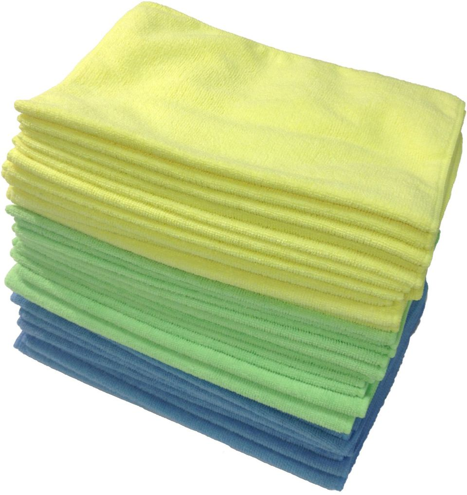 Zwipes Microfiber Cloths do a great job on many surfaces.