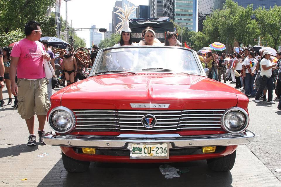 2010 Gay Pride Parade In Mexico City