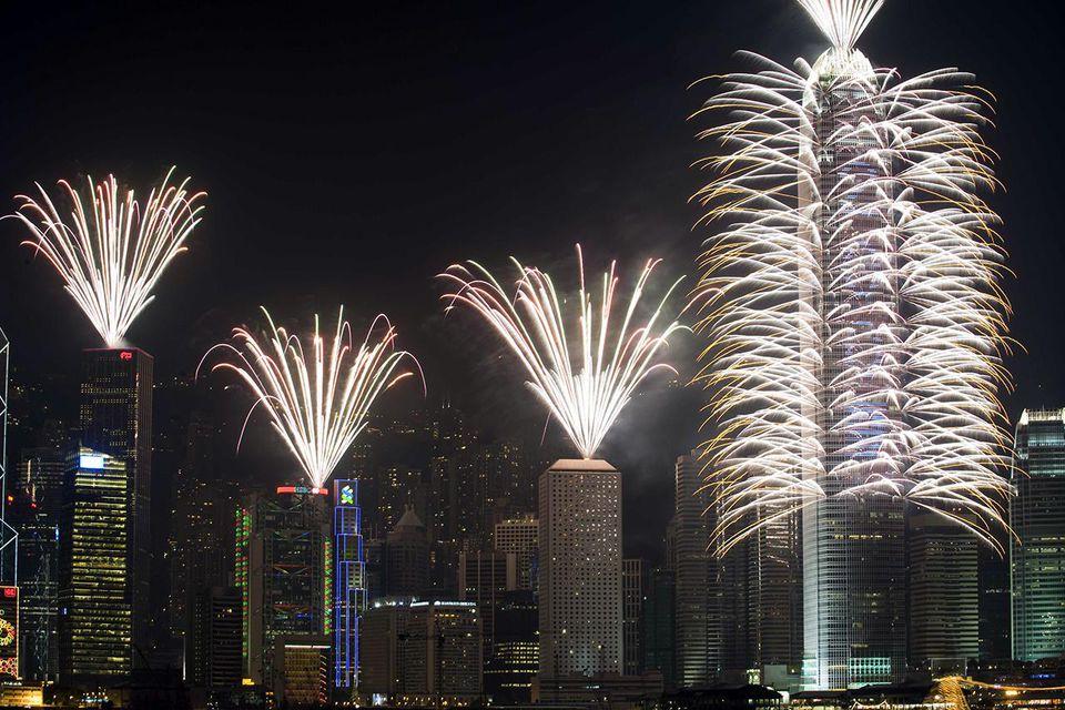 China Celebrates The New Year