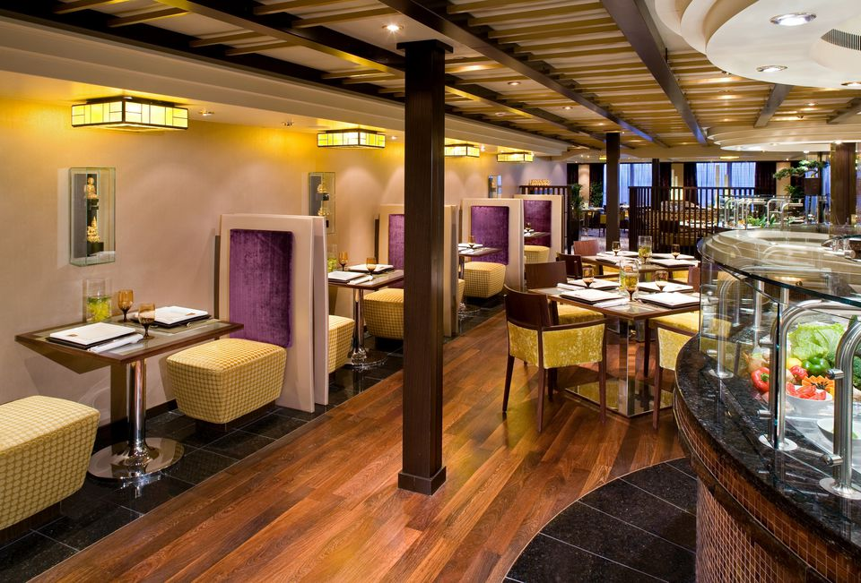 Tamarind Asian Restaurant on the Holland America Eurodam cruise ship