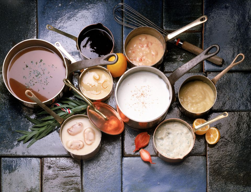 Bechamel, roux and white sauce recipes