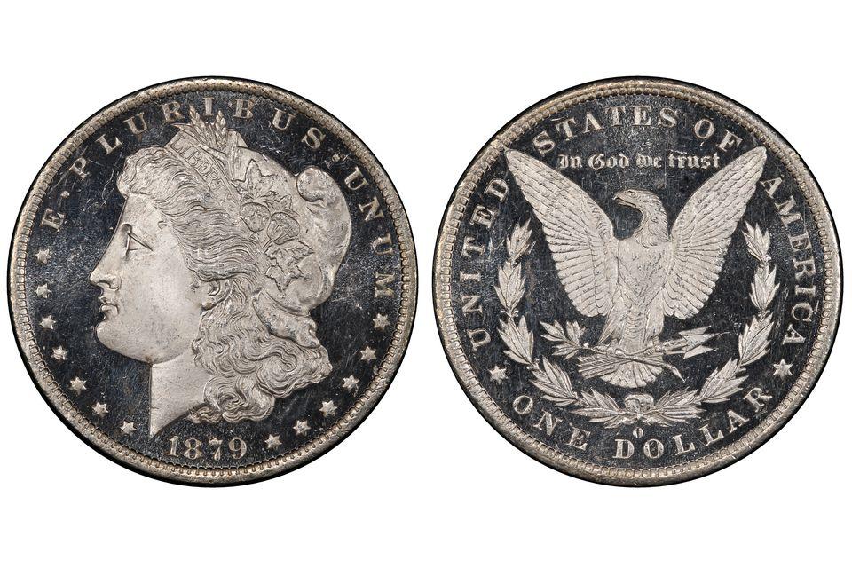 1879-O Morgan Dollar DMPL