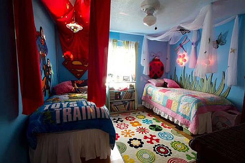 great ideas for shared kids bedrooms - Boy And Girl Bedroom Ideas