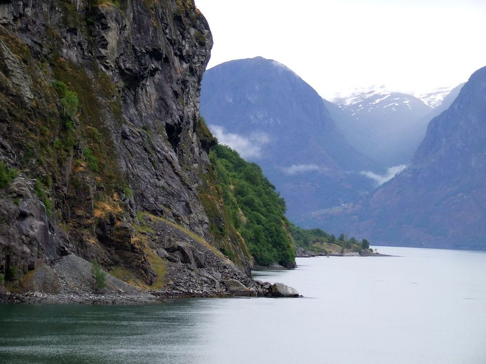 Fjord near Flam, Norway