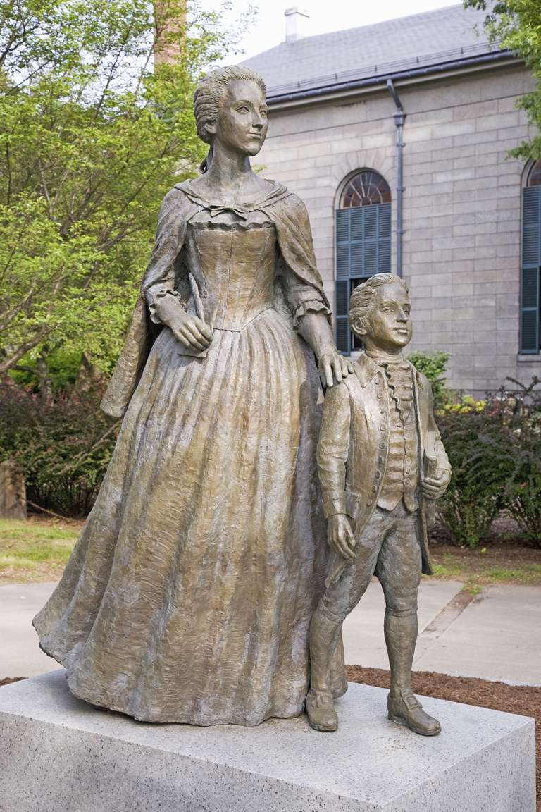 Abigail and John Quincy Adams