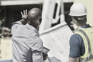 Construction project manager and architect