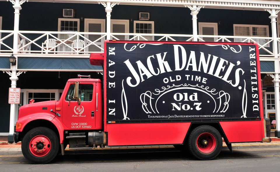Jack Daniel's Delivery Truck