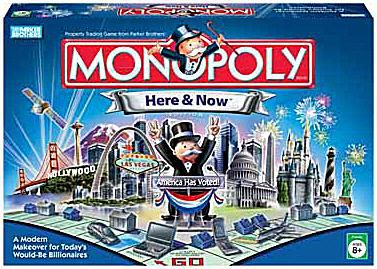 Monopoly Here & Now board game