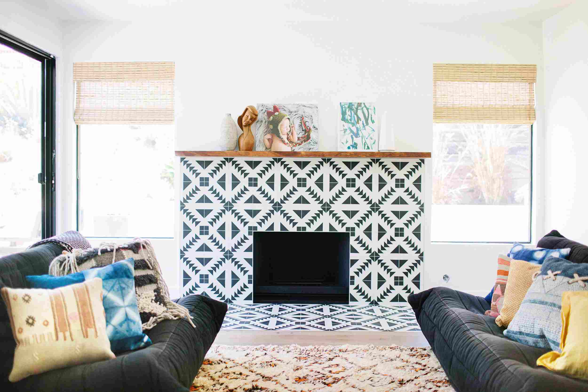 for peel electric supplies tile will anything that never used fireplace i before house and be surround this easy our are reiterate makeover safe the of is note an not stick