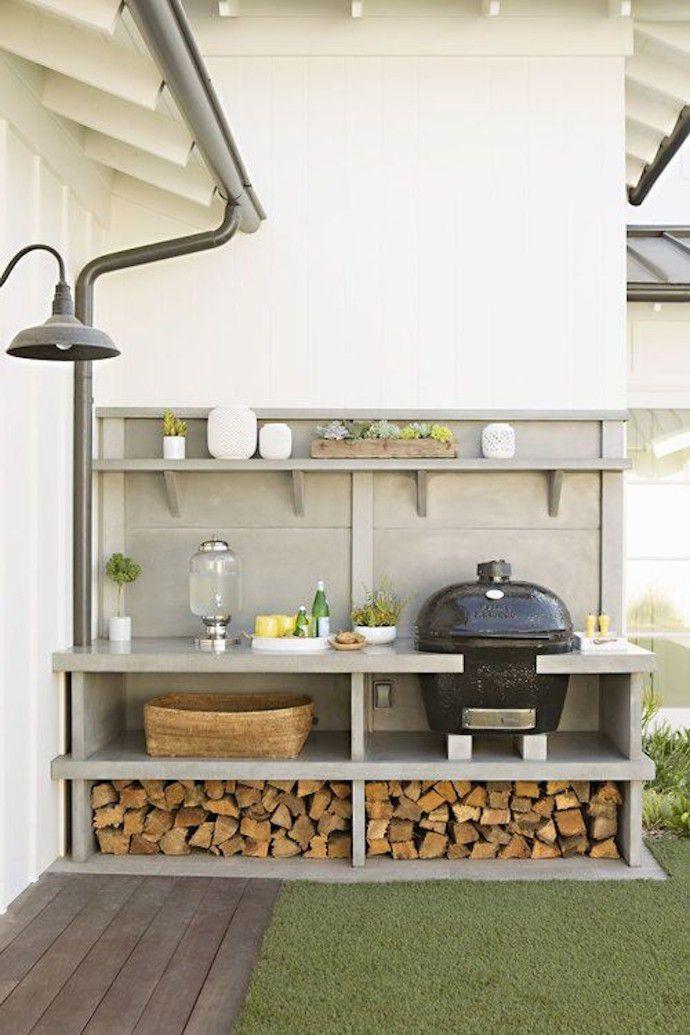 A Modern Outdoor Kitchen
