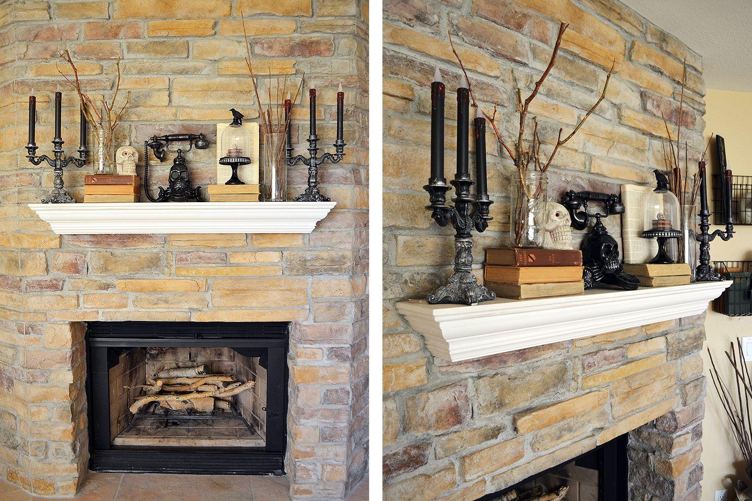 35 beautiful fall mantel decorating ideas